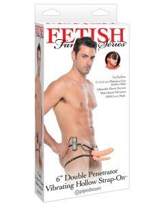 Fetish Fantasy Double Penetrator - MOOTTOROITU STRAP ON, Seksilelut ja seksivälineet , Strap-On Ja Klitoriskiihottimet, Seksikauppa, Naisten seksilelut ja seksivälineet, Seksilelut miehille, Proteesit ja tuet, OUTLET