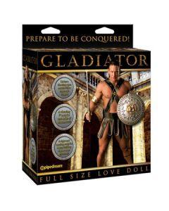 Gladiator Love Doll, kahden aukon komea mies, Seksivälineet, Seksivälineet naisille, Naisten nuket