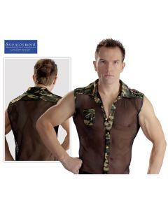 """Men's Shirt, verkkopaita """"Militaar"""", Yhdistelmät"""