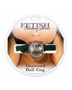 Diamond Ball Gag, clear - suupall, Bondage & SM, Naisille, Miehille