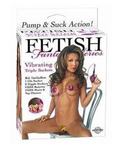 Triple Suckers, klitoris ja nännipumput, Seksilelut ja seksivälineet , Naisten seksilelut ja seksivälineet, Rintapumput, Klitorispumput