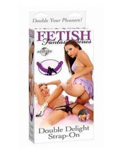 Double Delight Strap-on, kaksipuolinen strap-on, Strap-On Ja Klitoriskiihottimet