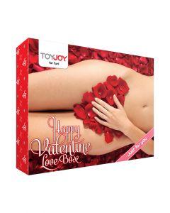 HAPPY VALENTINE LOVE BOX - SEKSILELUJEN SARJA, Seksivälineet, Seksikauppa, Seksilelusetit