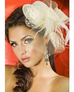 Hat Cream S-L, Käsilaukut, käsineet, päähineet ja muut , Päähineet ja hiuskoristeet
