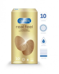 DUREX REAL FEEL KONDOMIT 10 KPL