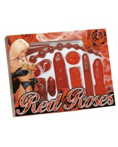 Red Roses- Upea Seksikäs Lahjasetti, Seksilelut ja seksivälineet , Seksilelusetit, Seksilelut lahjaksi Naisille