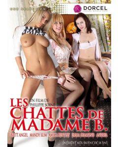 DVD Les chattes de Madame B., Seksifilmit ja seksi DVDt, Hetero seksi videot, Marc Dorcel, Seksikauppa