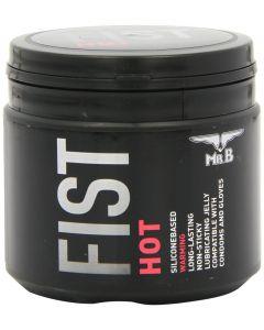 Mister B Fist Hot Lube 500 ml, Liukuvoiteet ja hierontaöljyt, Silikonipohjaiset liukuvoiteet