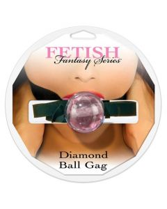 Diamond Ball Gag, pinkki – suupallo, Bondage & SM, Naisille, Miehille