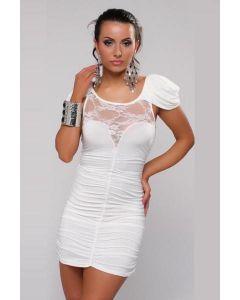 Sexy Cocktail Party Mini Dress White, Mekot ja bilevaatteet