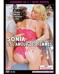 DVD Sonia et l'amour des femmes, Seksifilmit ja seksi DVDt, Lesbo seksi videot, DVD XXX Marc Dorcel , Seksikauppa