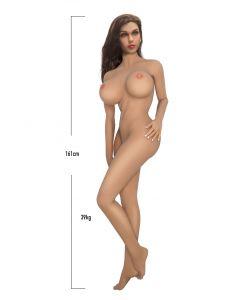 AIDON KOKOINEN SEKSINUKKE PAMELA, Seksikauppa, Uudet tuotteet, Seksilelut lahjaksi miehille, Seksirobotit , Seksikoneet ja Panokoneet