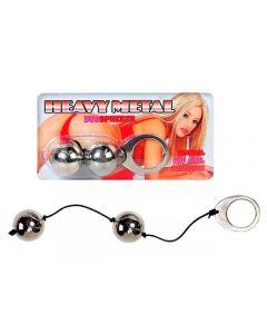 Heavy Metal Duo Balls, Seksilelut ja seksivälineet , Naisten seksilelut ja seksivälineet, Vaginakuulat ja Harjoituspallot