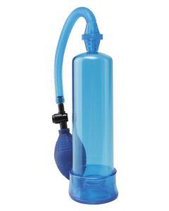 Pump Worx Beginner's Power Pump Blue,Sininen penispumppu, Penispumput