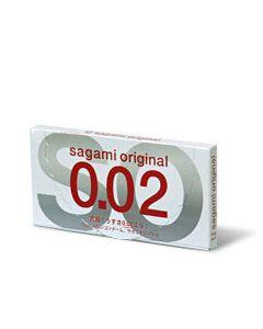 Sagami lateksivapaa kondomit 2 kpl, Kondomit