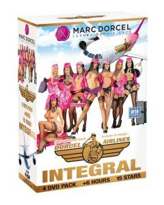 Dorcel Airlines Integral - Coffret collector 4 DVD, Seksifilmit ja seksi DVDt, Hetero seksi videot, Lesbo seksi videot, DVD XXX Marc Dorcel ™